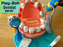 the play doh dentist playset introduces kids to the dentist