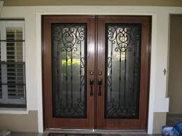 fiberglass front doors with glass 14 best wrought iron front doors images on pinterest front doors
