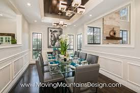 Luxury Home Staging Moving Mountains Design Los Angeles Real - Dining room staging