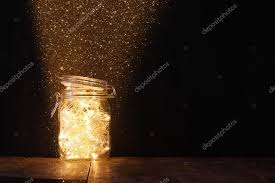 lights in jar with stock photo tomert 88627308