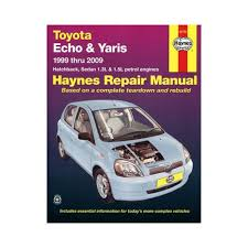 toyota echo u0026 yaris service and repair manual 1999 to 2009
