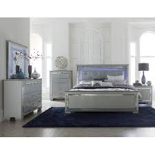 full queen bedroom sets contemporary gray 6 piece queen bedroom set allura rc willey