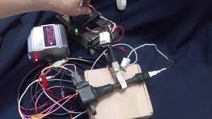 nissan almera ignition coil test coil nissan qg15 internal igniter with jsk hybrid cdi youtube