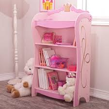 kidkraft pink princess 4 shelf bookcase 76126 hayneedle