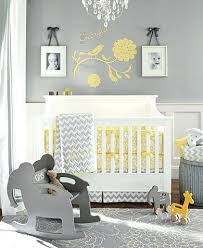 Gray And Yellow Nursery Decor Gray And Yellow Nursery Modern Grey And Yellow Nursery Gray And