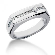 men s wedding band mens fancy diamond rings in platinum gold and palladium