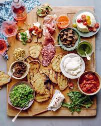 Elegant Dinner Party Menu 40 Stylish Ideas For A Memorable Summer Party Bruschetta Bar