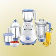 buy prestige iris 750 watt 4 jar mixer grinder white blue online