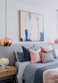 Grey White Pink Bedroom A Pretty White Pink And Pale Grey Palette For A Feminine Bedroom