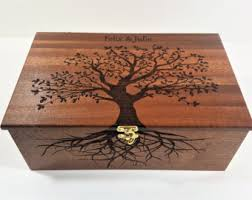 Engraved Music Box Burned Music Box Etsy