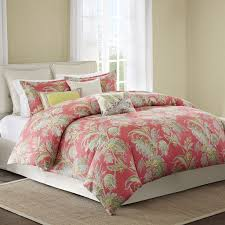 Queen Comforter Bedroom Cute Coral Bedspread For Nice Decorative Bedding Design