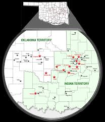 all black all black towns of oklahoma map