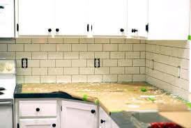 how to install kitchen tile backsplash how to install a kitchen the best and easiest tutorial kitchen