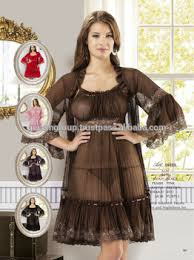 transparent gown and nightdress set buy transparent night