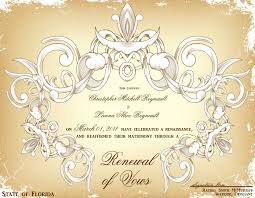 renew wedding vows florida vow renewal certificates wedding officiant ft lauderdale fl
