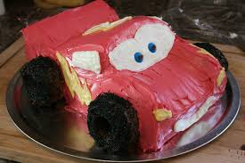 Home Made Cake Decorations by Simple Lightning Mcqueen Birthday Cake Image Inspiration Of Cake