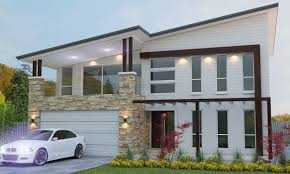 Modern Floor Plans Australia Free Modern Two Storey Design 4 Bedroom Modern Two Storey