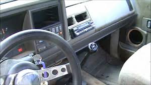 Chevy Truck Interior 93 Silverado Stepside Before Custom Interior Youtube