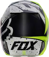 helmet motocross 2017 fox racing v2 nirv helmet mx motocross off road atv dirt