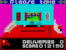 postman pat retro review zx spectrum hey poor player hey poor