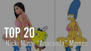 Nicki Minaj Meme - top 20 nicki minaj anaconda memes vibe youtube