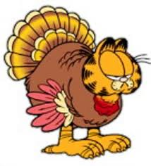 garfield clipart turkey pencil and in color garfield clipart turkey
