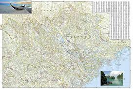 Adventure Map Vietnam North National Geographic Adventure Map National