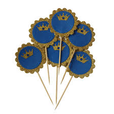 Blue And Gold Baby Shower Decorations by Compare Prices On Gold And Royal Blue Party Decorations Online