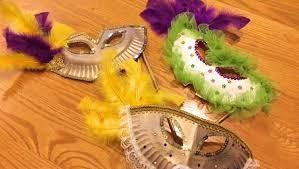 diy mardi gras mask mardi gras mask