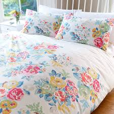 Cath Kidston Duvet Covers Rose Bedding 85 Purple Rose And Lily Print Cotton 4piece Bedding