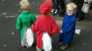 Chipmunk Halloween Costume Mott Multiples Triplets Twins Single Alvin
