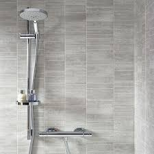 Plastic Wall Panels For Bathrooms by Dumapan Stone Tile Grigio Piccolo Shower Bathroom Pinterest