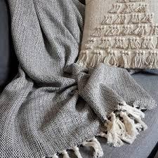 grand jeté de canapé plaid artisanal et jeté de canapé grandes tailles coton artizana