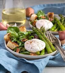 cuisine lyonnaise asparagus salade lyonnaise