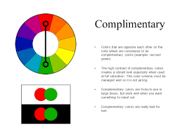 complementary colors color schemes complimentary colors that are opposite each other on
