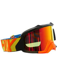 fox air space mx goggle fox mx brille 2018 air space preme schwarz gelb fox