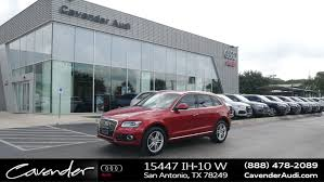 cavender audi service 2015 audi q5 for sale in san antonio near alamo heights