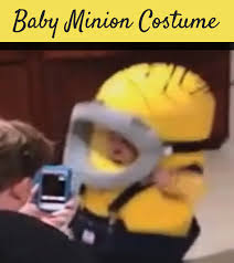 Baby Minion Costume Baby Minion Costume Wins Halloween You Can Teach Your Child