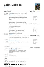 Fire Chief Resume Examples by Sports Editor Resume Samples Visualcv Resume Samples Database