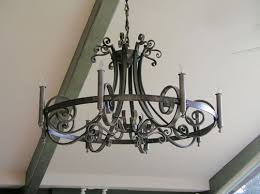 Chandelier Metal Forged Steel Chandelier Don Asbee Metal Artist