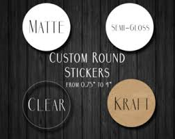 custom stickers etsy