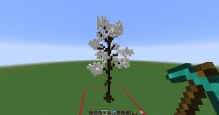 how to make custom trees minecraft