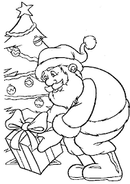 kids fun 85 coloring pages christmas santa claus