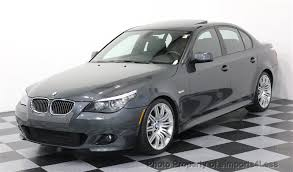 2010 bmw 550i 2010 used bmw 5 series 550i 6 speed m sport navigation at
