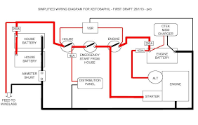 engine rewire wiring diagram archive yachting and boating