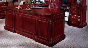 L Shaped Desk With Locking Drawers by Darby Home Co Prestbury L Shape Executive Desk With Center Drawer