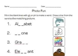 Ph Worksheet Gh Ph F Digraph Worksheet By Mcandrew Tpt