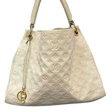 louis vuitton artsy mm bag louis vuitton artsy mm white handbags leather white ref 46301 joli