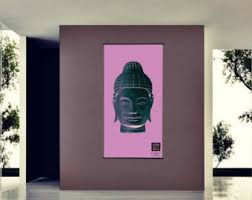 Buddhist Home Decor Buddha Poster Etsy
