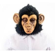 horse mask halloween city chimpanzees foam latex mask as monkey s mask horror shop com best